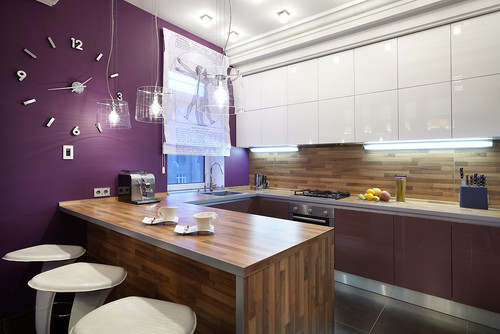 The Purple Kitchen Design