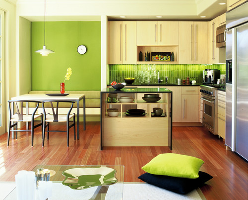 The Lime Green Kitchen Ideas