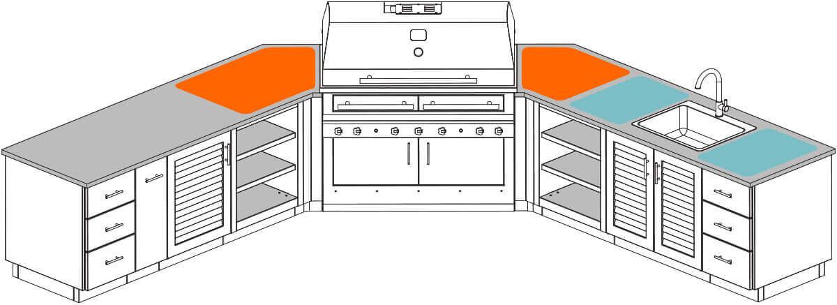 Kitchen Landing Area
