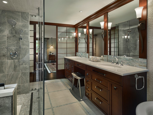 Bathroom interior design style