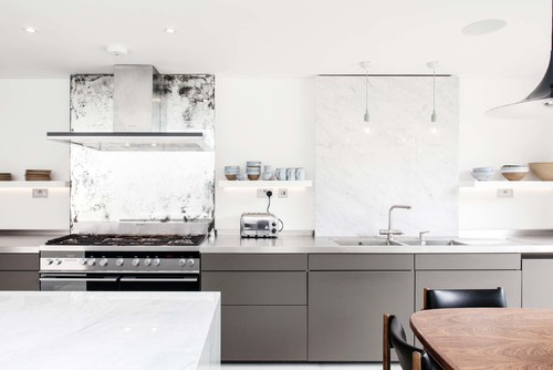 Modular White Kitchen