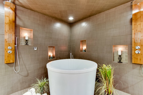 Candlelit bathroom