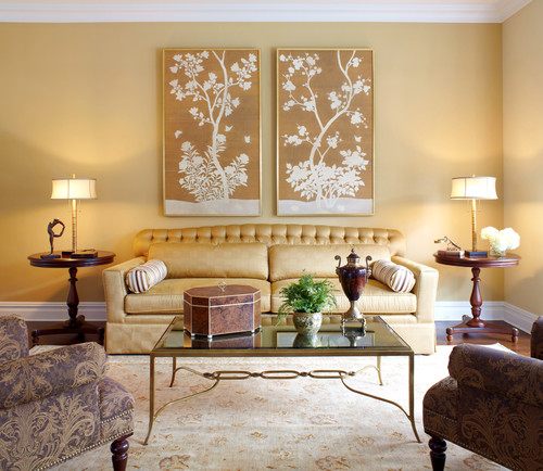 Luxury living room decor ideas with golden touch plan n for M s living room accessories