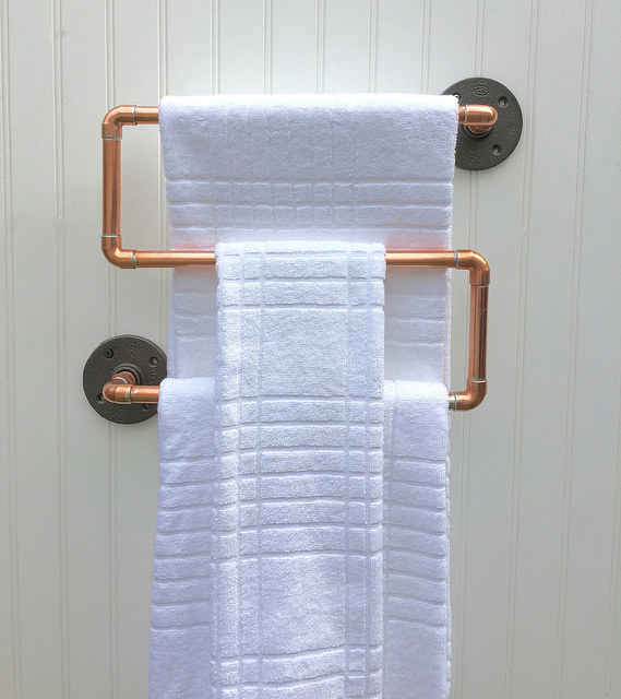 S Shape Towel Rod