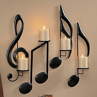 Wall Mounted Candle Stands
