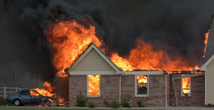 Fire proof your home