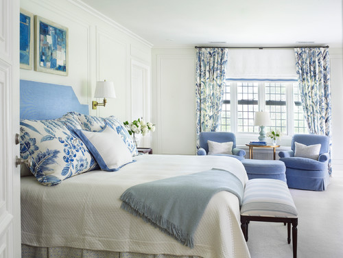 7 Cool Color Scheme for a Calming Bedroom