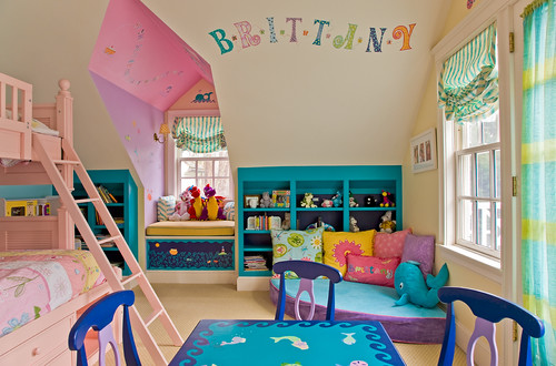 Refreshing Kids Room With Accurate Use Of Colors, Light & Decor