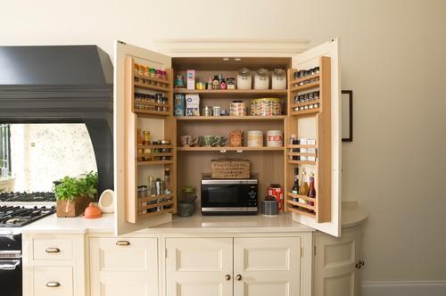 Storage on Kitchen Cabinet door