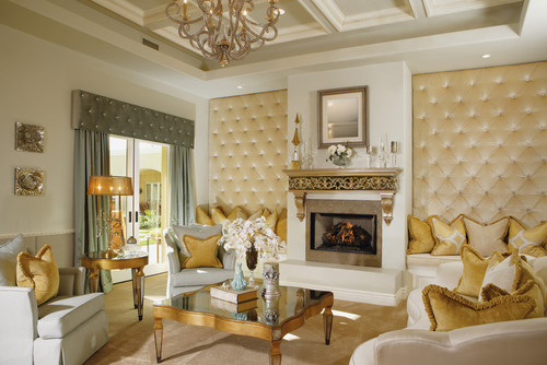 7 Spectacular Interior with Tufted Wall Panels
