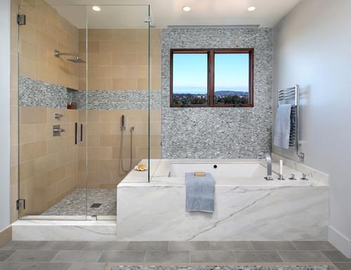 Wet Shower Area