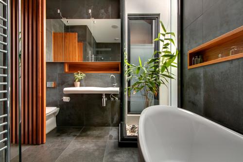 contemporary bathroom accessories