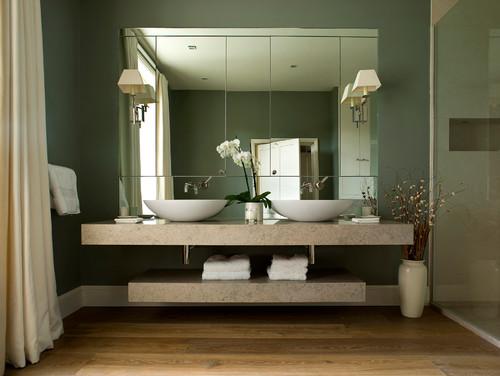 bathroom wash basin counter
