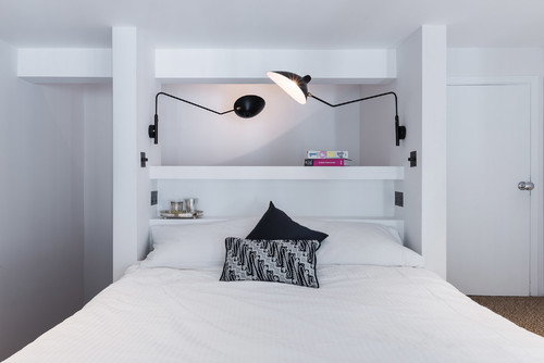 Book Rack BedDesignfor a Young Adult