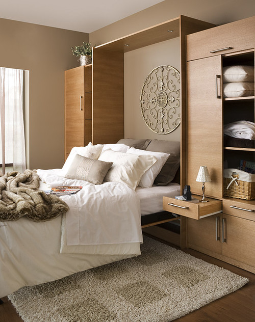Pull out Bedside Table style