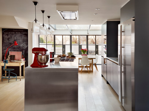Kitchen Island  With Appliances