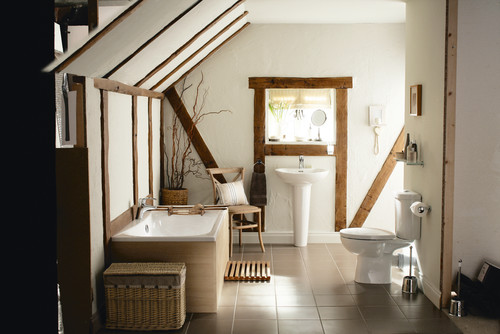 Rustic Chic Bathrooms