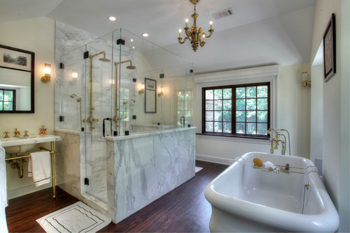 old world charm bathrooms