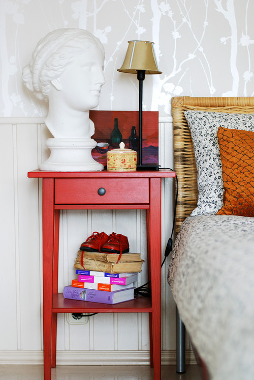 Colorful Bedside Table