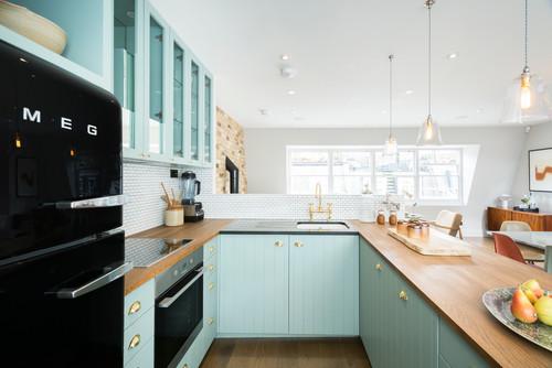 Pastel Shades Kitchen Decor Ideas