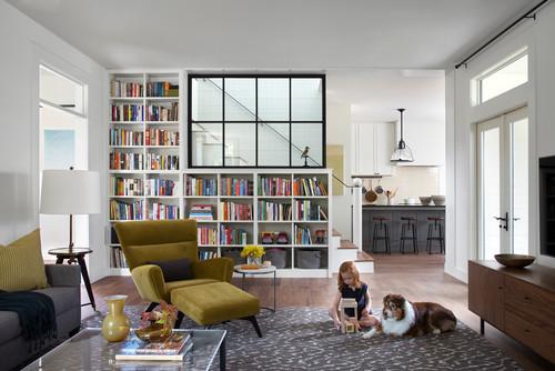 living room bookcase decorating ideas