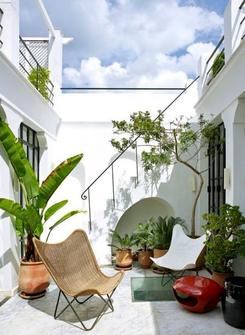 Terrace Decor to Bring a Calm and Serene Environment