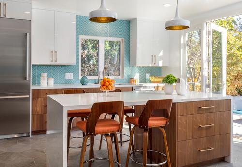 Turquoise Blue Kitchen Decor Ideas
