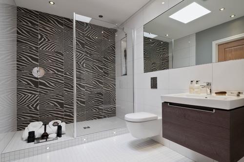 Digital printed bathroom tiles