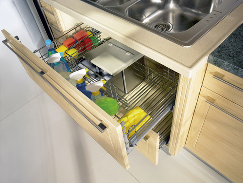 Pull Out Space Saver Cupboard
