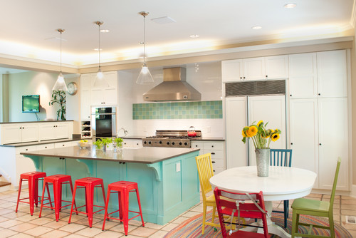 Bright Colors For Kitchen
