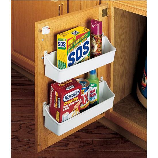 cabinet door storage ideas