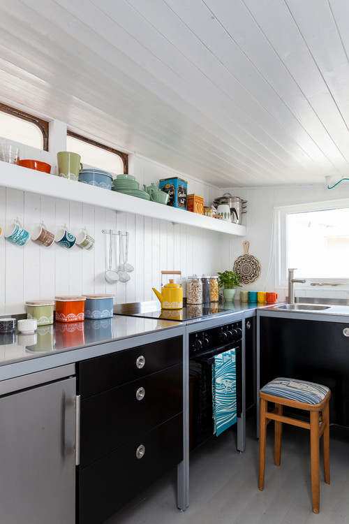 Kitchen Accessories - Pictures Of Bright Colored Kitchen
