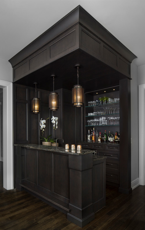Corner Bar Design Unit