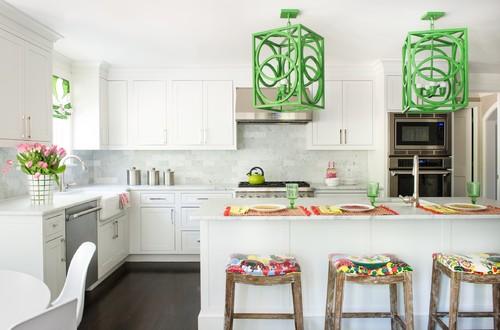 Green color Kitchen Decor Ideas