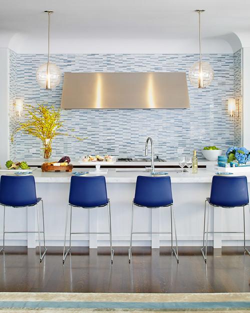 Blue color Kitchen Decor Ideas