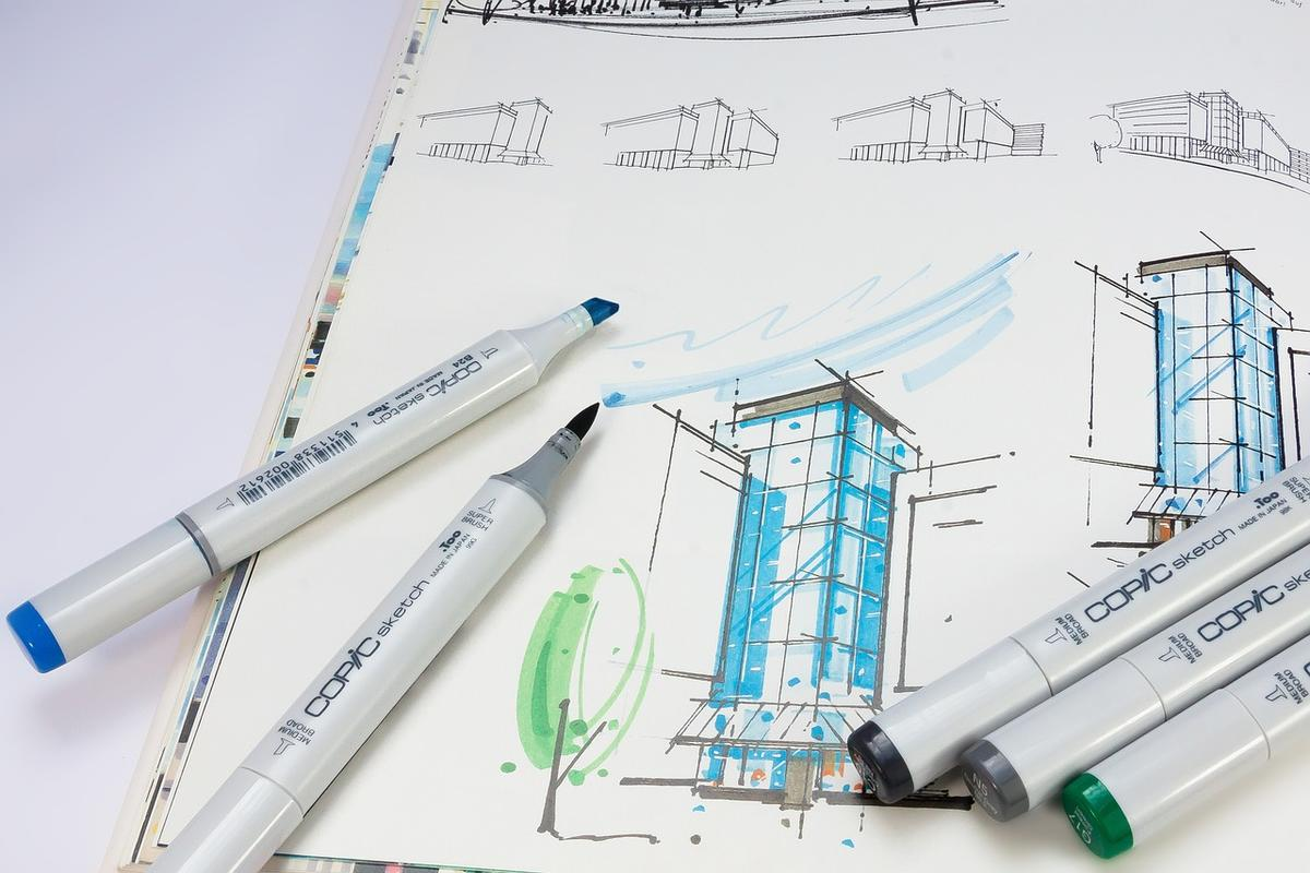 Sketching Is Our Favourite Architectural Tool