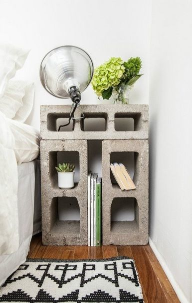 DIY Bedside Table style