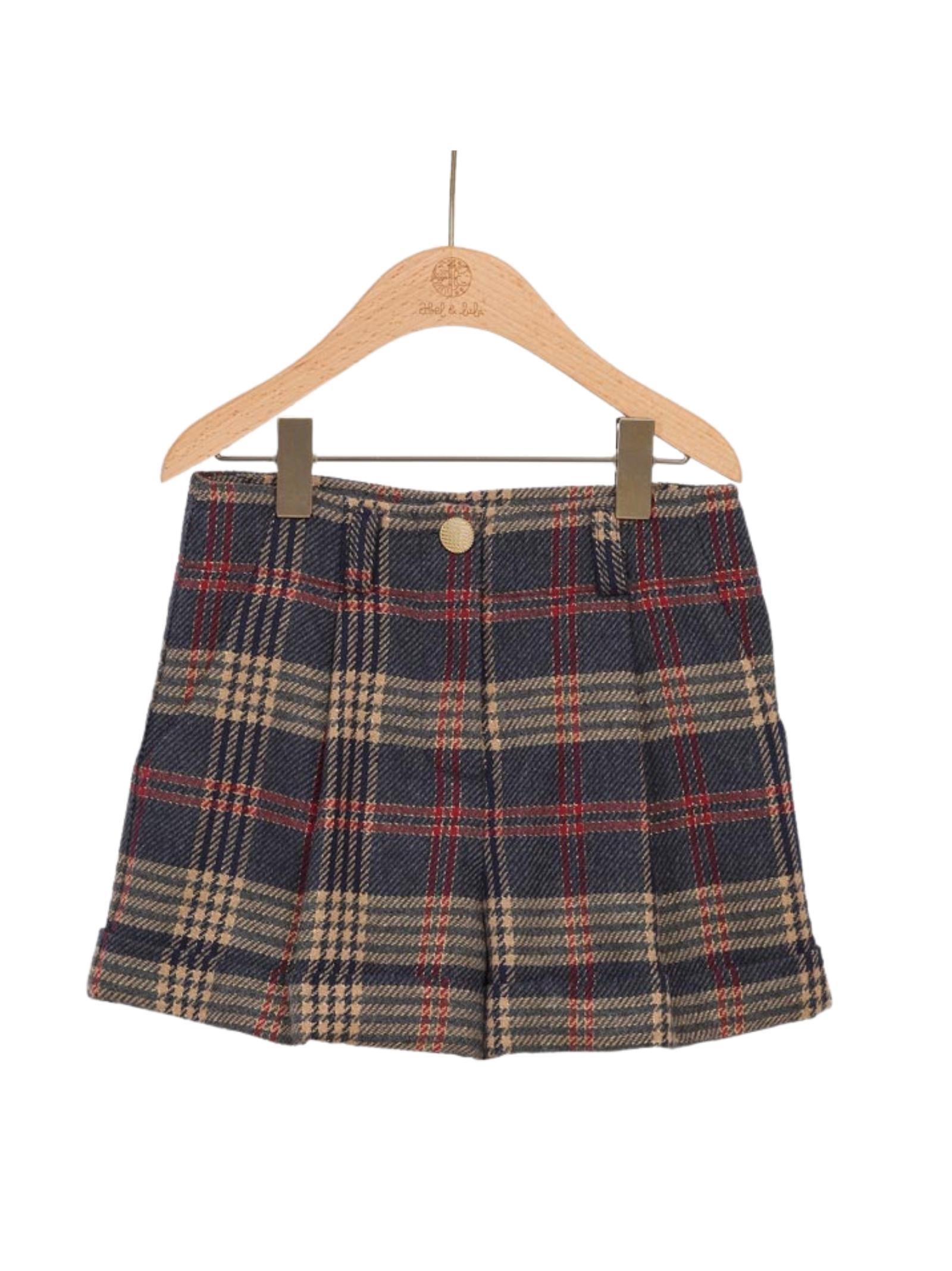 Checked Jersey Shorts ABEL&LULA | Shorts | 5718024