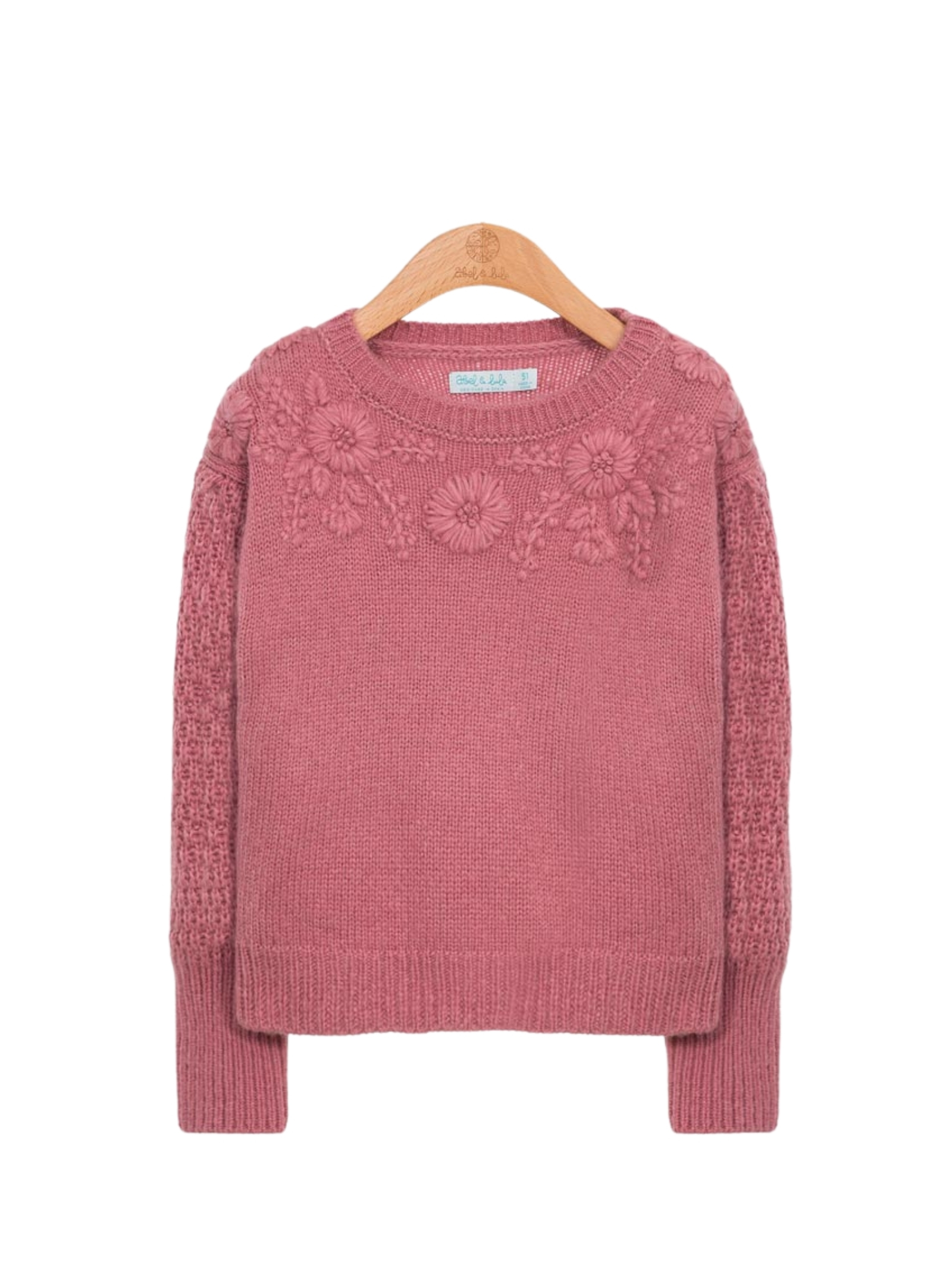 Floral Embroidery Sweater ABEL&LULA | Sweaters | 5834071