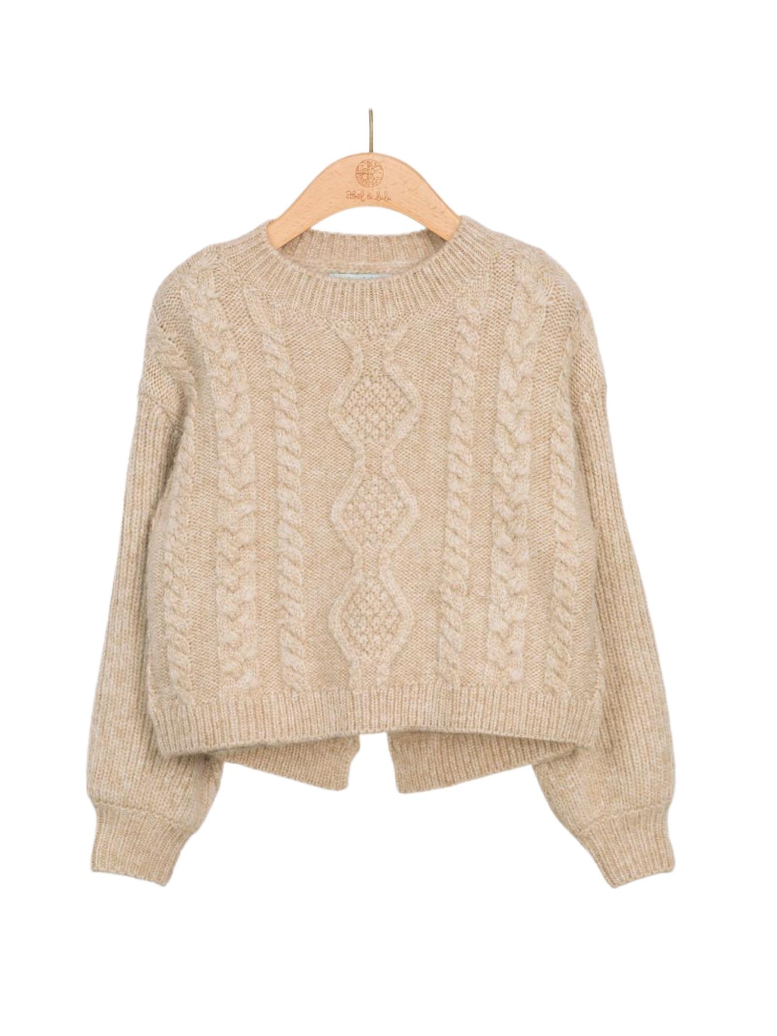 Jersey Jacquard Sweater ABEL&LULA | Sweaters | 5836043