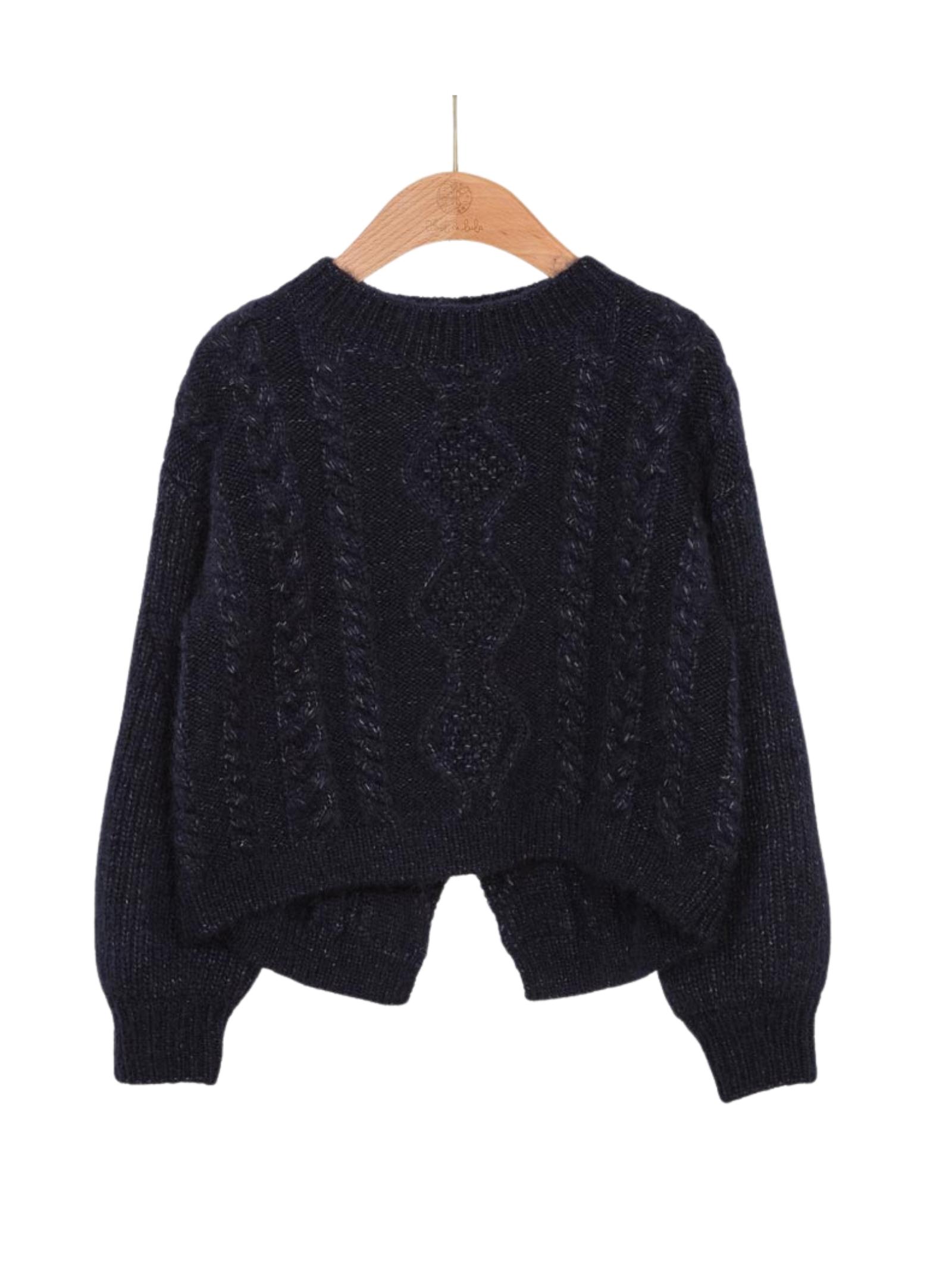 Jersey Jacquard Sweater ABEL&LULA | Sweaters | 5836044