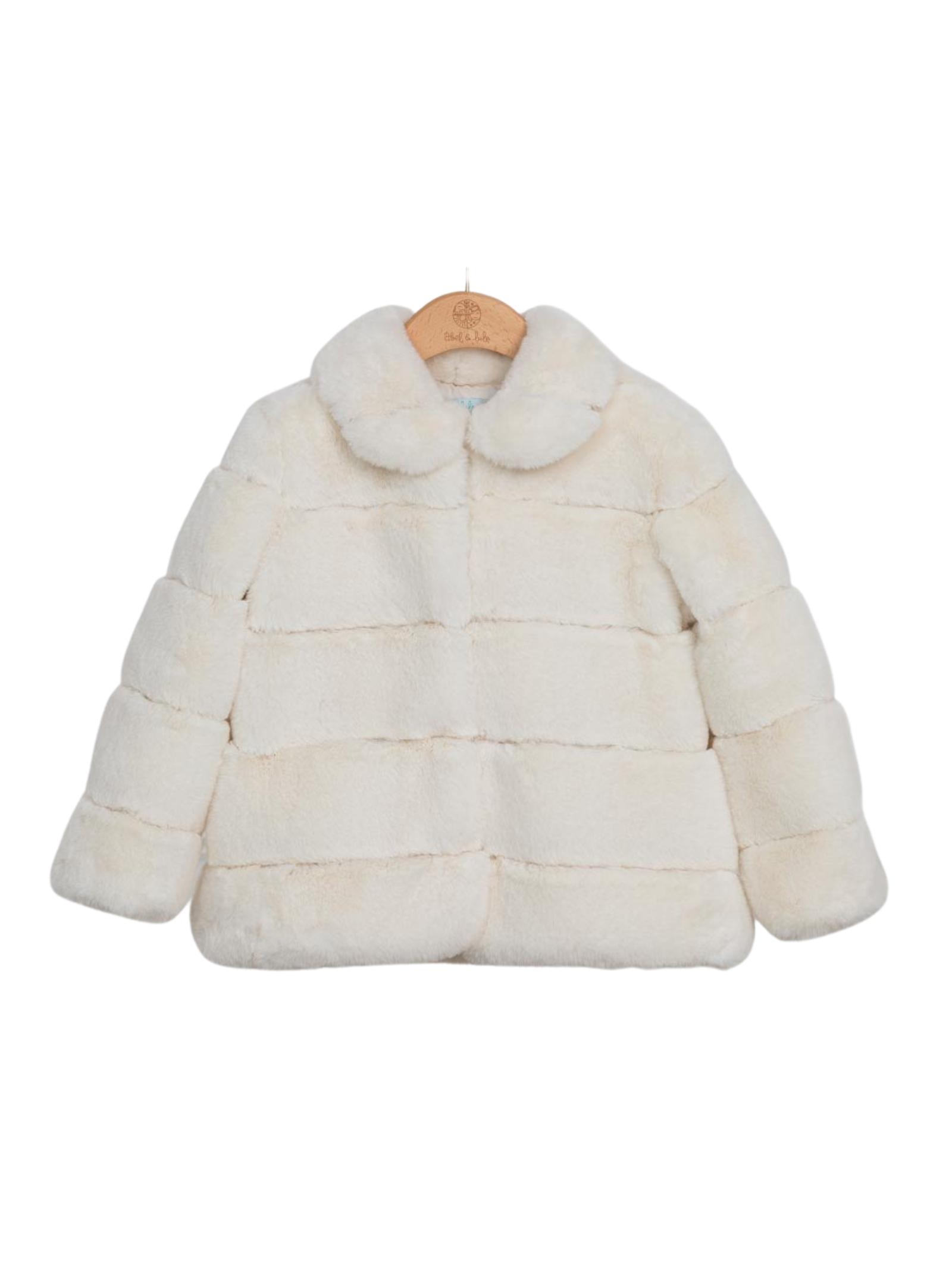 Eco-fur Colletto Elegant ABEL&LULA | Coats | 5847028