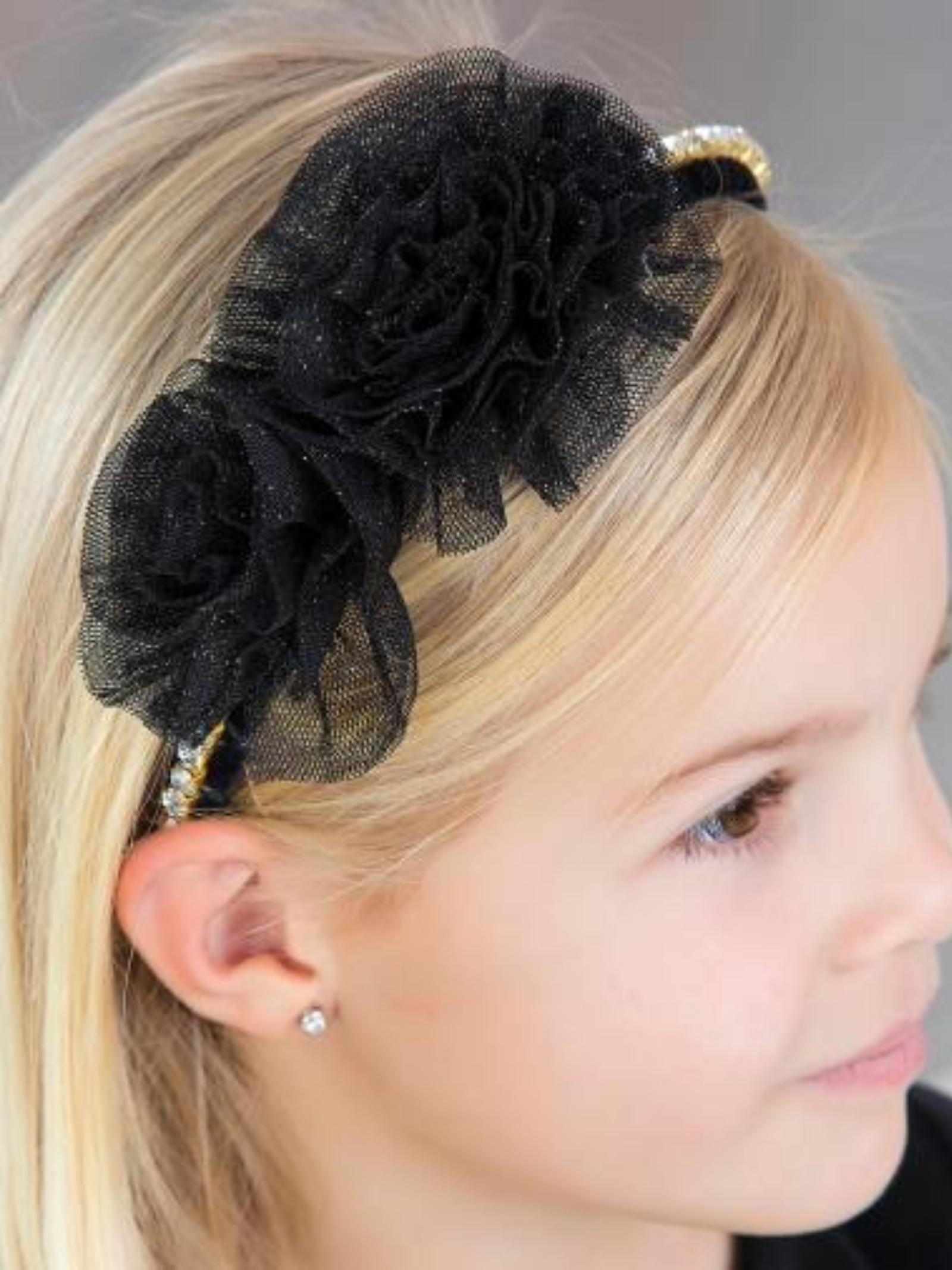 Girl's Tulle Headband ABEL&LULA   Headbands   5927084