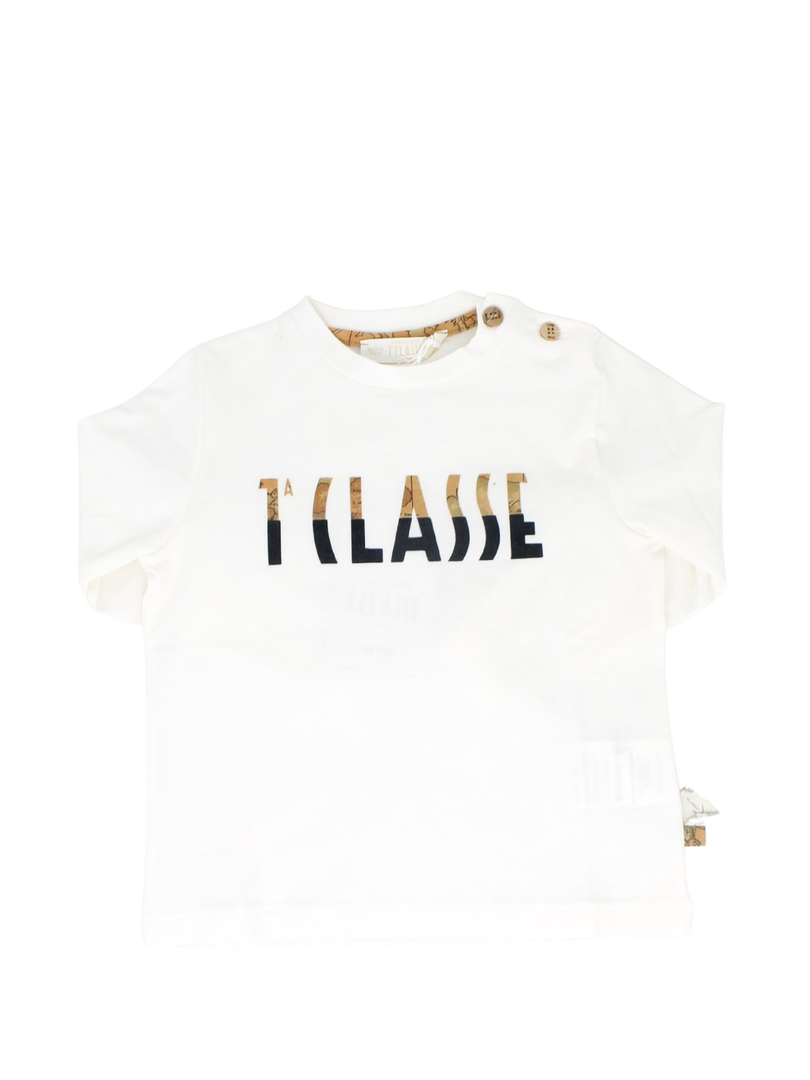Baby Logo T-Shirt ALVIERO MARTINI 1° CLASSE JUNIOR | T-shirt | 2571M0466BEIGE