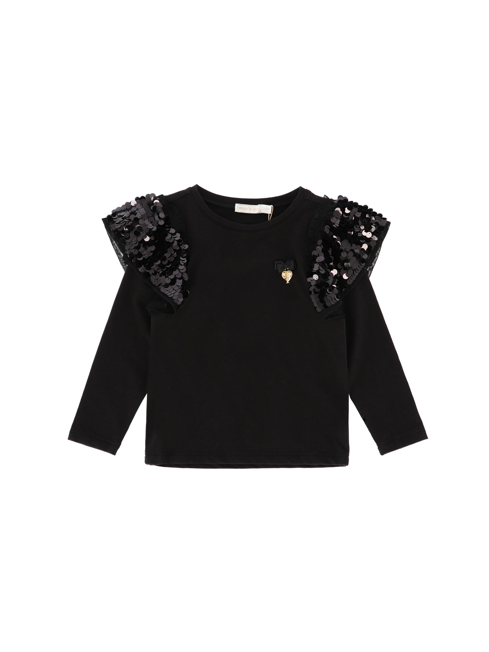 Cassia Paillettes Girl Sweater ANGEL'S FACE |  | CASSIABLACK