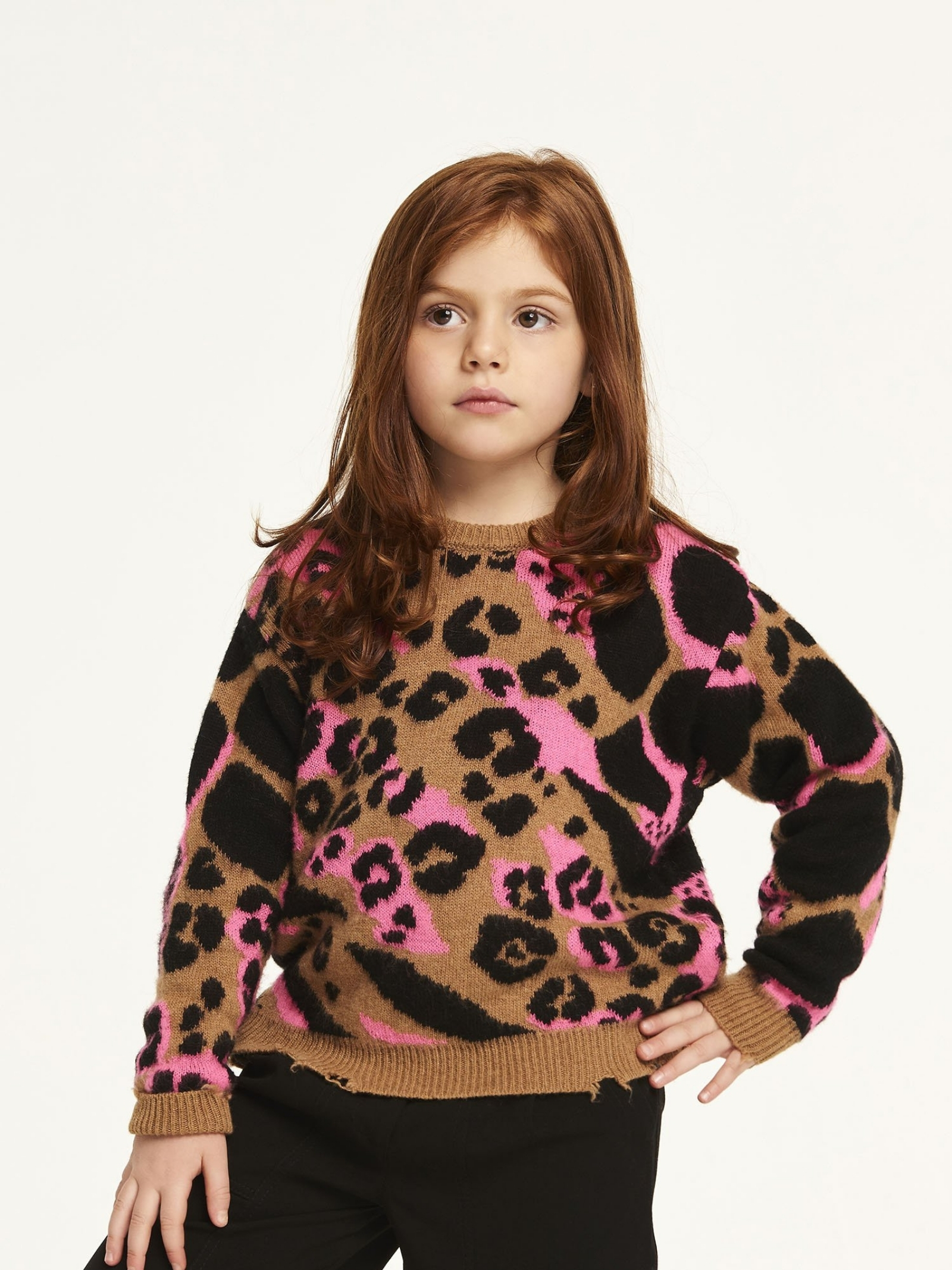 Girl's Fringed Sweater ANIYE BY GIRL | Sweaters | 11110200405