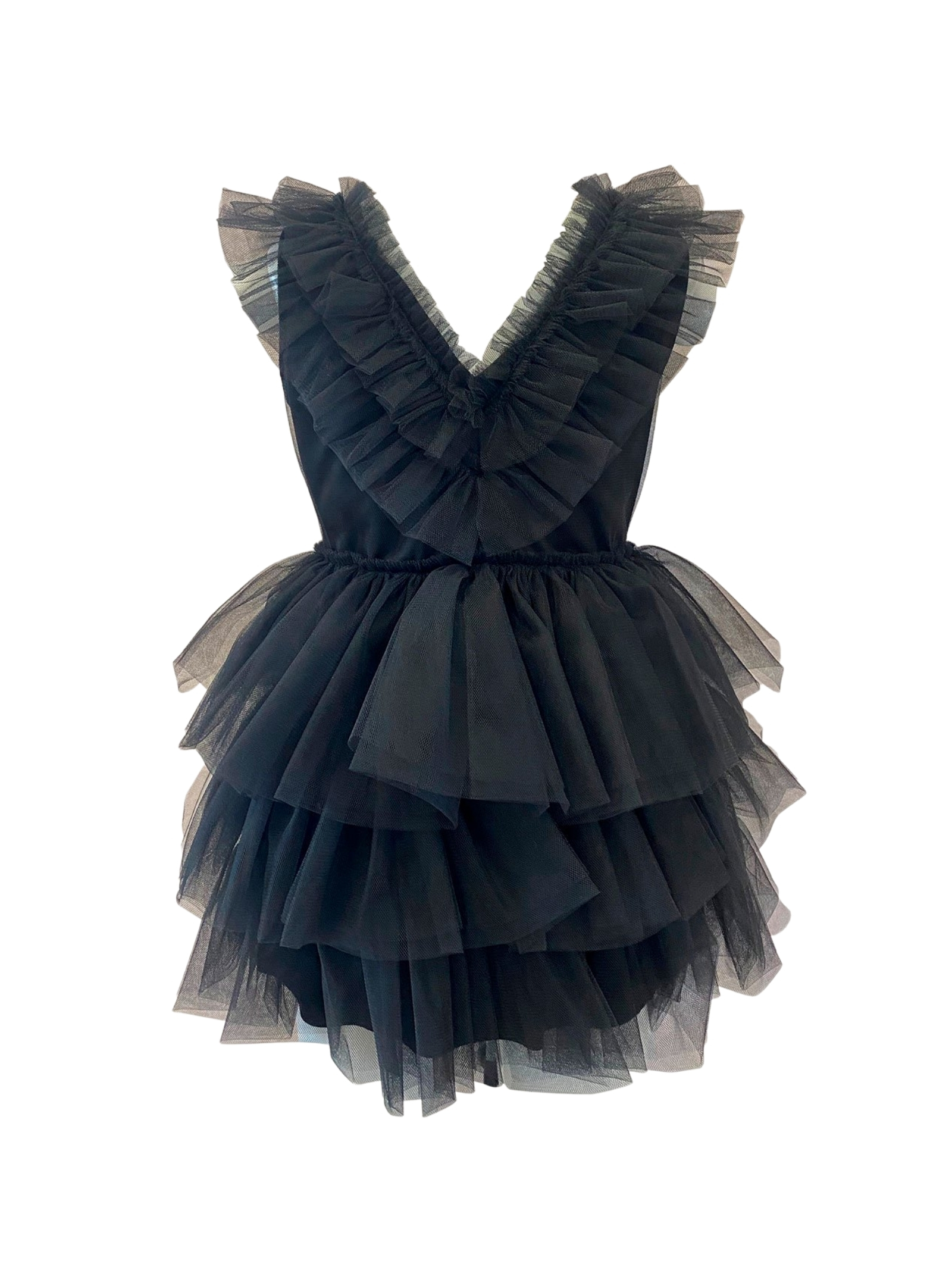 Girl's Tulle Dress with Rouche ANIYE BY GIRL | Clothes | 11122500336