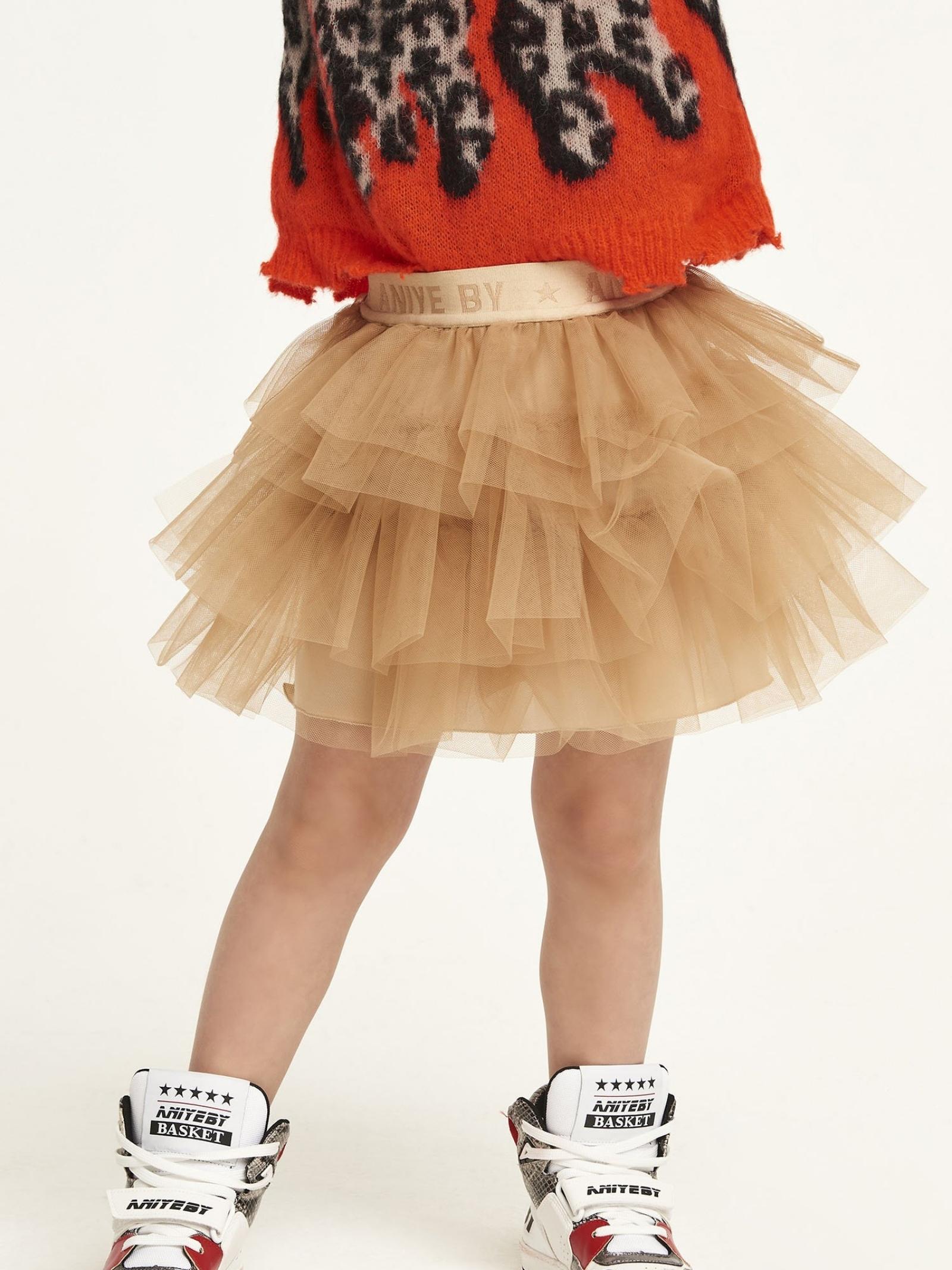 Tulle Skirt with Logo for Girls ANIYE BY GIRL | Skirts | 11125200459