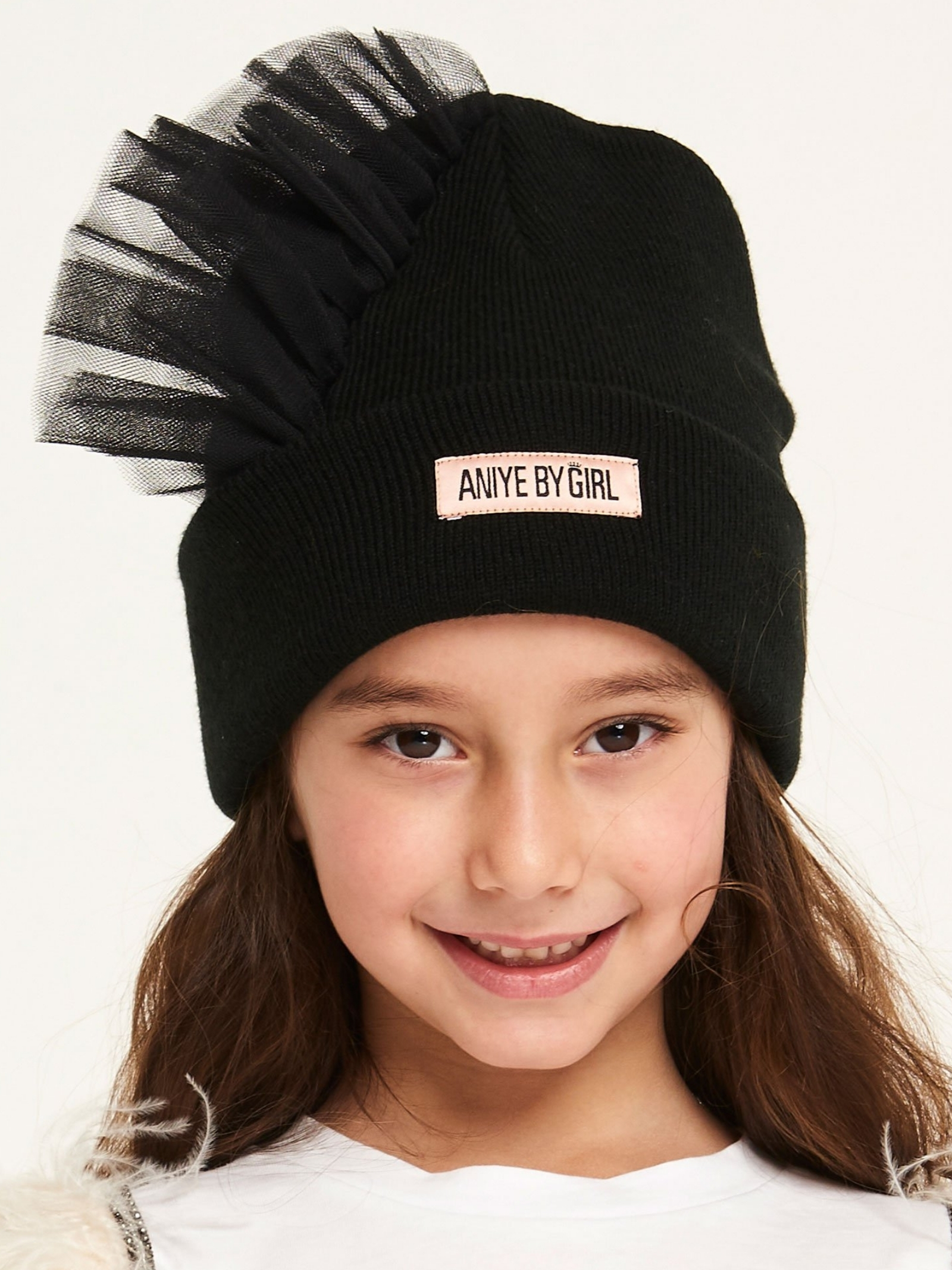 Tulle Hat with Girl Logo ANIYE BY GIRL | Shirt | 11125900002