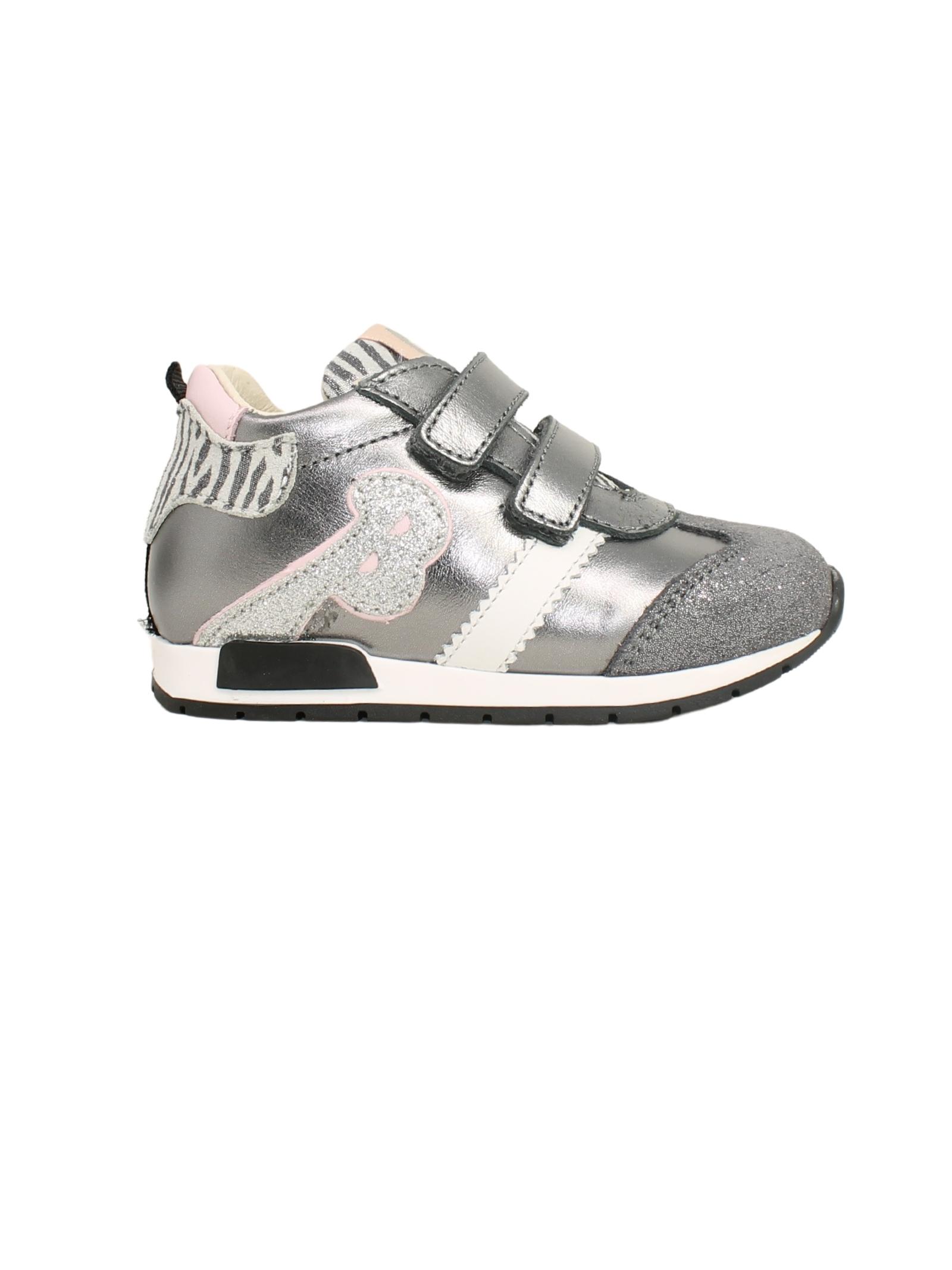 Low Sneakers in Lurex Girl BALDUCCI | Sneakers | CSPO4853ACCIAIO